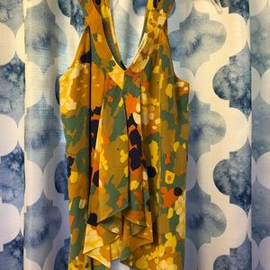 Diane von Furstenberg Silk tank top